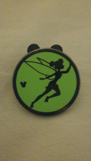 Disneyland Hidden Mickey Tinker Bell Silhouette Pin 2015 for Sale in Riverside, CA
