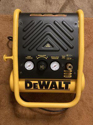 Dewalt 1 gallon portable electric trim air compressor for Sale in Tigard, OR