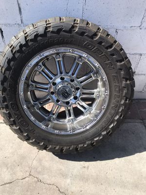 Off road wheels and tires for Sale in Los Angeles, CA