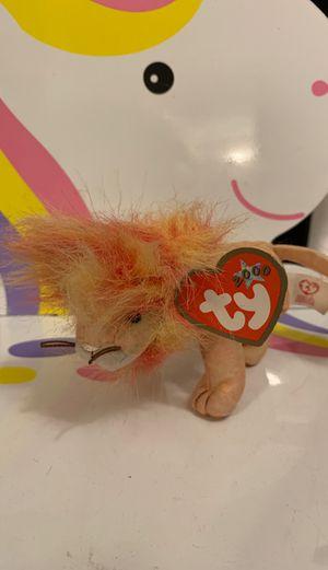 Tremor Beanie Babies Bushy the Lion for Sale in El Cajon, CA
