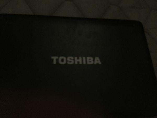 Toshiba laptop for parts
