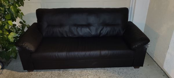 FREE black Couch, 6ft.
