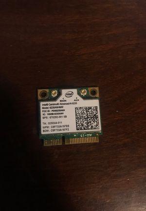 Intel centurion WiFi card for Sale in Cypress, TX
