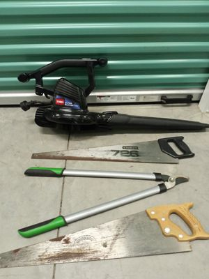 Blower , saw , and trimmer for Sale in Hilton Head Island, SC
