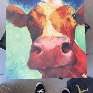 Cow Canvas for Sale in Anaheim, CA