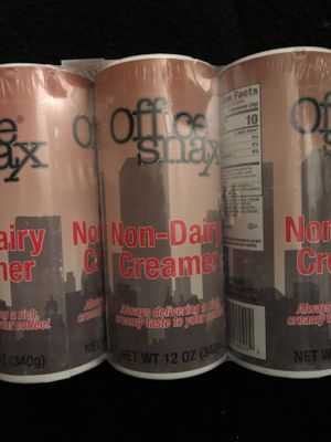 Non dairy creamer 3 - pack for Sale for sale  Knoxville, TN