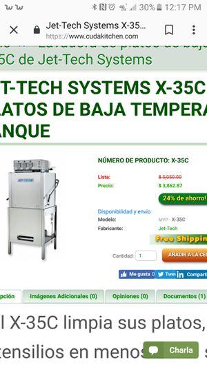 Dishwasher jet-tech for Sale in Modesto, CA