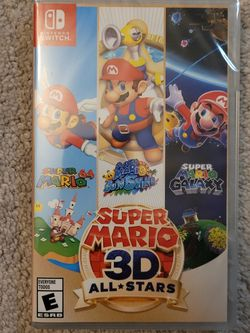 Super Mario 3D All Stars Nintendo Switch for Sale in Silver Spring,  MD