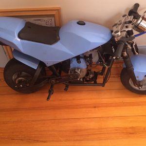 Pocket rocket. Mini motorcycle 50cc bike for Sale in New Bedford, MA