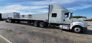 Truck and trailer for Sale in Wheeling, IL