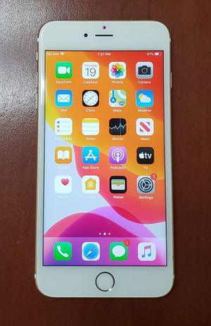 iPhone 6S plus for Sale in Irving, TX