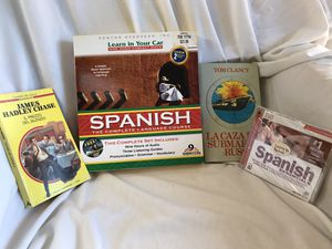 Spanish audio learning CDs. Books in Spanish. for Sale in Battle Ground, WA