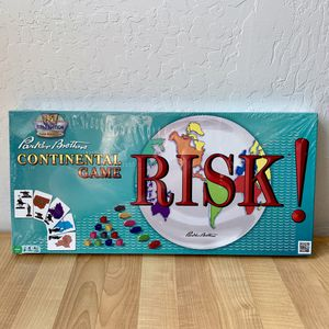 1959 First Edition Classic Reproduction Parker Brothers Continental Risk! Board Game New - Sealed Package for Sale in Elizabethtown, PA