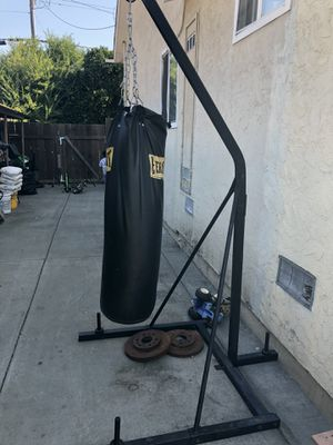 Punching bag with stand for Sale in Fremont, CA
