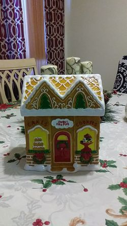 Gingerbread House cookie jar for Sale in Silver Spring,  MD