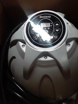 Bestway Saluspa P4H063(USQ20) Inflatable Hot Tub/spa Pump/heater/motor for Sale in El Cajon,  CA