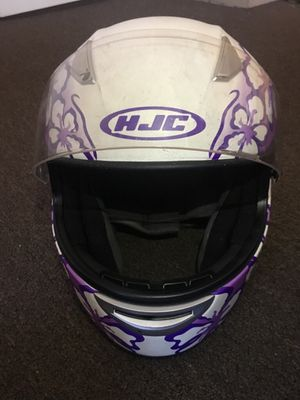 Girls HJC motorcycle helmet for Sale in Melrose, MA