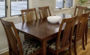Ethan Allen dining set, w/ 6 chairs for Sale in Wilmington, MA
