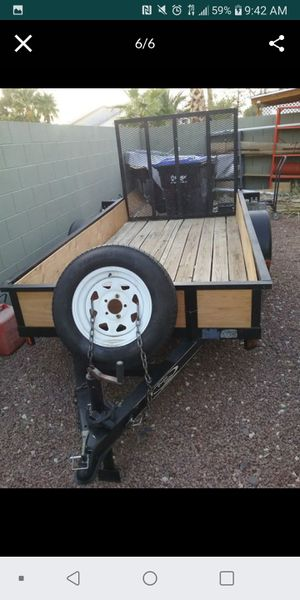 Trailer 5x10 with Tittle $ 1150 for Sale in North Las Vegas, NV