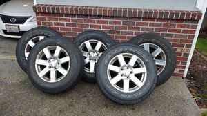 Jeep wheels and tires for Sale in Puyallup, WA