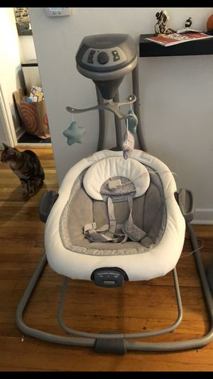 Baby Swing and Bouncer for Sale in Seattle, WA