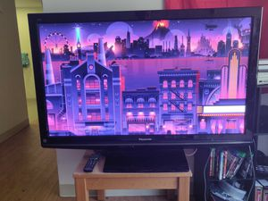"50"" Panasonic TV w/ remote, HDMI,Cable, component, etc for Sale in Washington, DC"