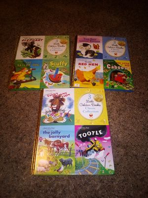 (3) 3 Little Golden Books Classic Collection for Sale in Lake Hallie, WI