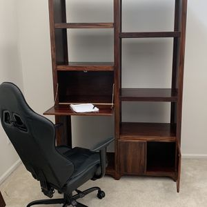 Solid Wood Book Shelf Desk $140 OBO for Sale in Auburn, WA