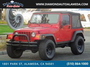 2004 Jeep Wrangler for Sale in Alameda, CA