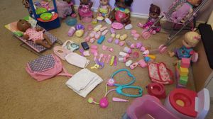 Baby alive dolls and play accessories for Sale in Heath, TX