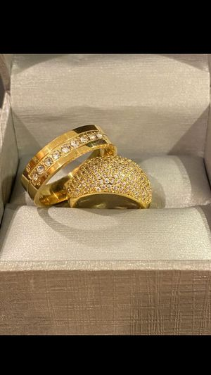 Wedding ring plated gold for Sale in Los Angeles, CA