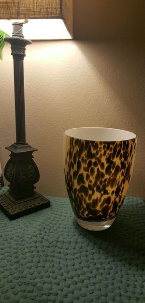 Decorative Glass Vase/Home Decor for Sale in Moreno Valley, CA