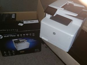Hp printer Model M477fnw for Sale in West Palm Beach, FL