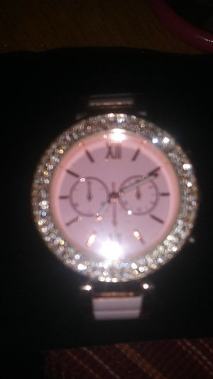 Pink and gold rhinestone ladies watch for Sale in Richmond, VA