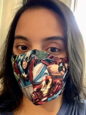 Handmade Masks Marvels . Ironman. Hulk . Thor . Captain America. 100% Cotton. Reusable. 3M Filter. for Sale in Orlando, FL