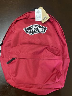 """Vans """"Off The Wall"""" Red Backpack for Sale in Glendale, AZ"""