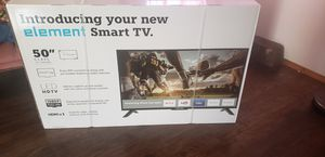 "(New) 50"" elements smart TV for Sale in Oregon City, OR"