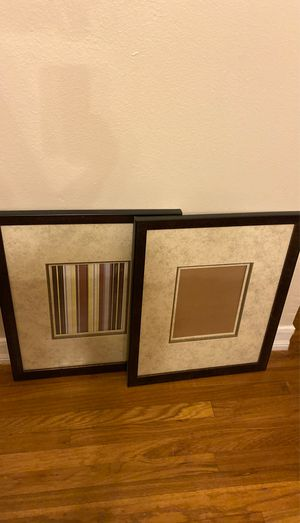 Two frames 16 x 20 or 8 x 10 for Sale in Riverside, CA