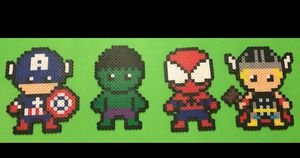 Marvel in perler beads for Sale in Lithia Springs, GA