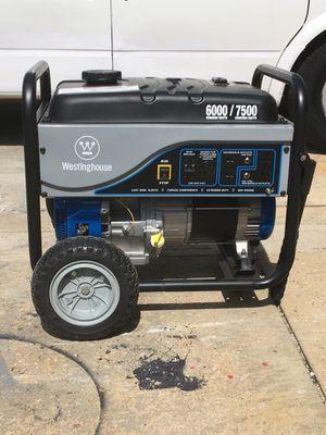 Westinghouse generator. 7500watt for Sale in Elmont, NY