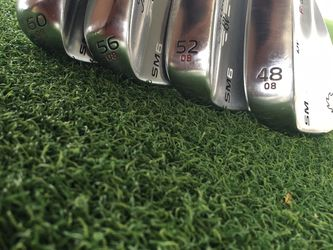 Titleist full wedges SM6 48 52 56 MINT CONDITION 60 Degree Sold for Sale in Seattle,  WA