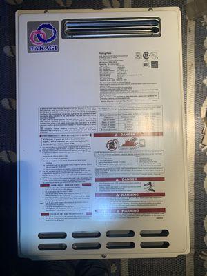 Takagi instant water heater 199,000 btu propane for Sale in Lakehills, TX