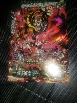 Great Ape Masked Saiyan, Primal Carnage. DragonBall Super. Two This Month On Ebay Sold For $175+ for Sale in Sherwood,  OR