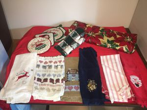 Christmas kitchen accessories for Sale in Manassas, VA