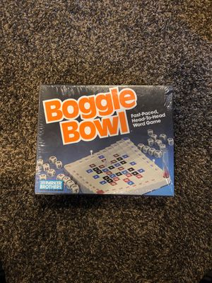 Boggle Bowl for Sale in Oskaloosa, IA