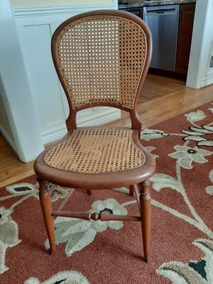 Antique Oak Cane Chair for Sale in Whittier, CA
