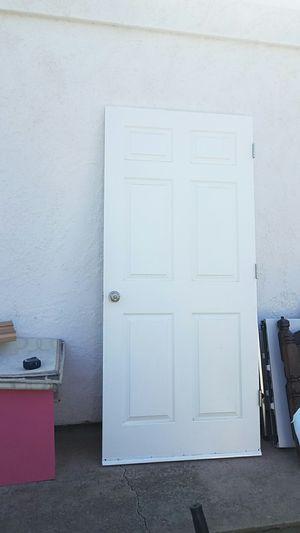 Interior garage Door 36 in. x 80 in. 6 panel for Sale in Sunnyvale, CA