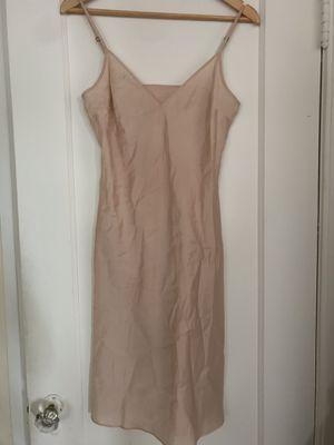 Vintage 100% Silk Blush Pink Slip Dress for Sale in Oakland, CA
