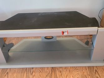 "TV Stand For 52"" TV Glass Shelf for Sale in Pomona,  CA"