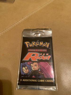 Pokémon Team Rocket Booster Pack Long Sleeve RARE!!! for Sale in Plantation, FL